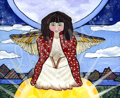 Angel Enlightenment - SOLD