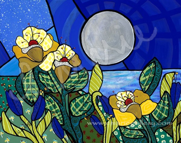 Dance With The Silver Moon - SOLD