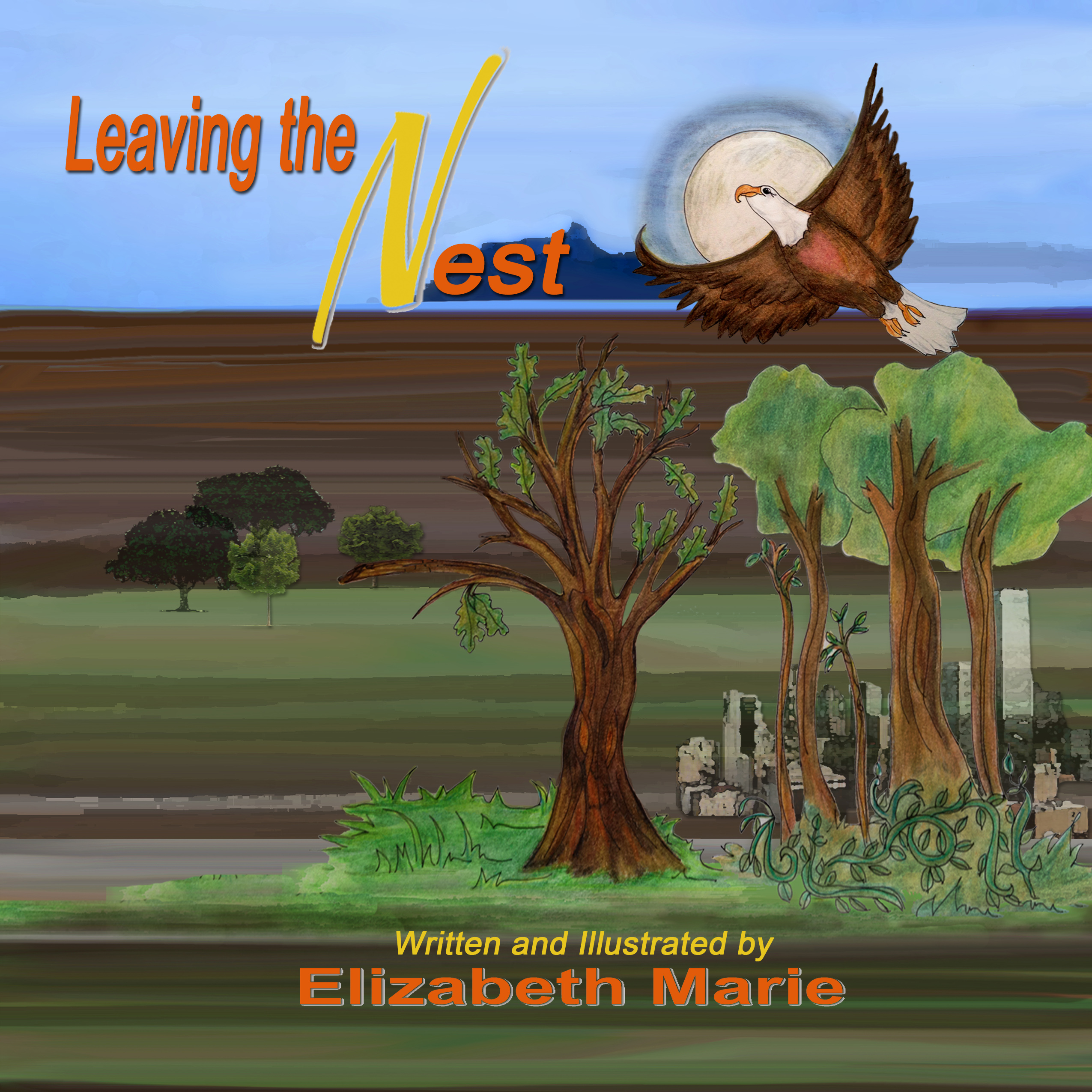 Leaving The Nest by Elizabeth Marie emariegallery.com Inspirational wisdom story